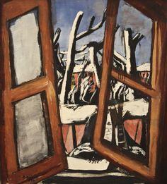 Max Beckmann - Winter Painting (1930)  Art Experience NYC  www.artexperiencenyc.com/social_login/?utm_source=pinterest_medium=pins_content=pinterest_pins_campaign=pinterest_initial
