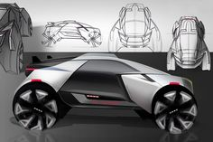 Brutalist Buggy | Yanko Design