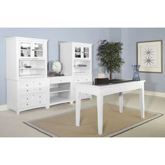 Magnussen Kentwood 4-Piece Standard Desk Office Suite & Reviews | Wayfair