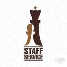 Chess, Queen, Pawn, Logo