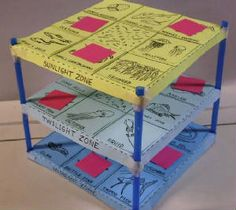 Here's a terrific 3-D ocean bingo game designed to help students learn about ecosystems and the zones of the ocean.