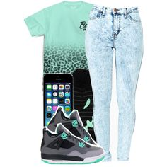 popular demand x green glow | 1 - 2 - 14, created by mindlesslyamazing-143 on Polyvore