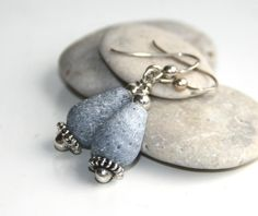 925S Blue Lava stone earrings http://epla.no/shops/LilliogLucas-smykk/