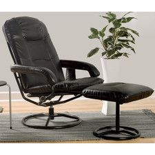 Leisure Heated Reclining Massage Chair with Ottoman172.99
