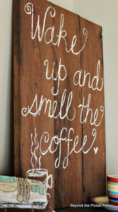 My Imperfect Coffee Sign