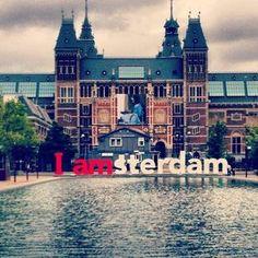 O melhor da vizinhança Amsterdão - Praça Museumplein