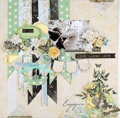 Scrapbook page by Suits me to a T