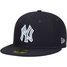 7d32bc7532c Men s New Era Navy New York Yankees Cooperstown Collection Fitted ...