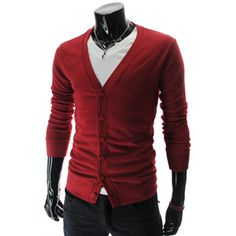 Slim Fit 6 Button Cardigan
