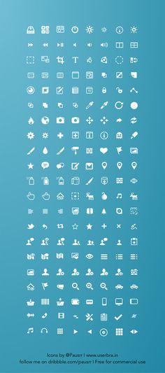 Web design freebies, Free Sketch icon set by Pausrr