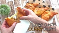 FAT HEAD CURRY PUFFS - Keto, Low Carb, Gluten Free