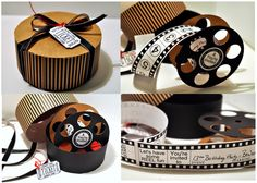 {Scrap This!} Movie Reel Birthday Invitation by Cutting Cafe - Scrap this...and that! | Scrap this...and that!