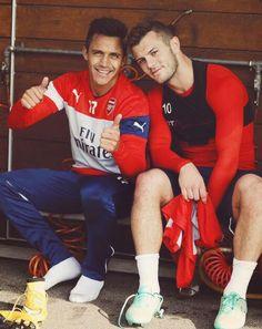 Sanchez and Wilshere