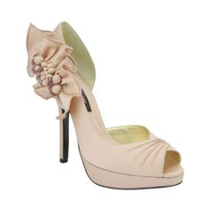 Neva by Nina Shoes in Tea Rose