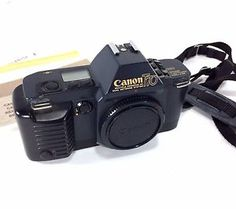 Canon T70 AE Camera Dual Metering System Body Only Cap Tested VTG Papers 1984 | eBay