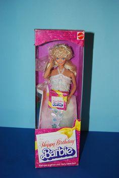 1980 Happy Birthday Barbie