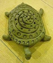 schildpad boetseren