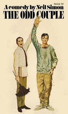 THE ODD COUPLE - Jack Lemmon & Walter Matthau