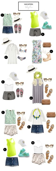 How to pack for vacation! #beachvacationoutfits