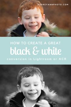 How to create a great black and white conversion using Lightroom or ACR only!