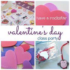 valentine's day class party ideas | valentine's bingo | valentine's partner match | ideas and more | teachmama.com