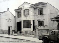 Década de 40 - Rua Spartaco, bairro da Vila Romana (Lapa), Delegacia de Polícia.