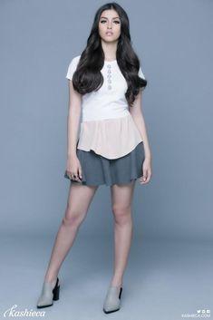 Liza Soberano in a mini skirt, looking hot! ...  #LizaSoberano