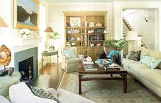 Aiken Street house plan, #1807, open floor plan lives big!  (Where are the closets?)