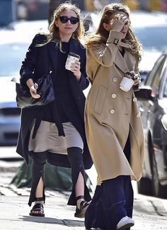 Ashley and Mary-Kate out in NYC, April 17, 2017