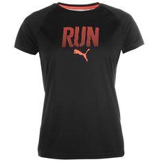 Puma | Puma Run T Shirt Ladies  | Ladies Running Clothing