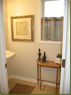 DIY:: Burlap Curtains...for the bottom half of the window since that's where everyone can see in!