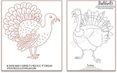 Free pattern day ! Thanksgiving (Embroidery)