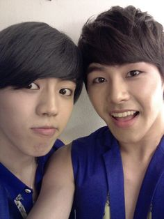 Infinite's Hoya and Sung Yeol