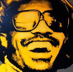 Stevie Wonder Original Artwork # 2