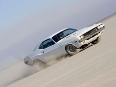 """Dodge Challenger """"Vanishing Point"""" 1970 - Muscle car... great movie too :)"""