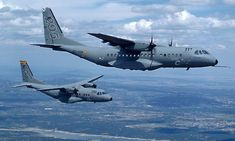 The C-295 is 3m longer than the CN-235 seen here in the background. - Image - Airforce Technology