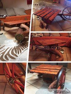 Table De Salon / Living Room Coffee Table