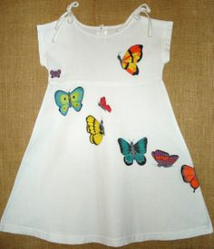 Butterflies Baby Girl Fashion, Toddler Fashion, Kids Fashion, Baby Girl Dress Patterns, Dress Sewing Patterns, Kids Dress Wear, Little Girl Dresses, Kids Frocks, Girls Rompers