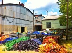 blenko glass discard piles - Picture of Blenko Glass Company, Milton - Tripadvisor