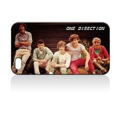 ONE Direction Hard Case Skin for Iphone 4 4s Iphone4 At Sprint Verizon Retail Packing.