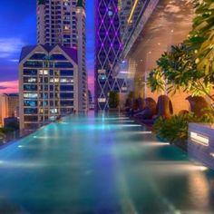 Les meilleurs hôtels avec piscine à débordement de Bangkok
