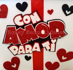 Diy And Crafts, Paper Crafts, Mickey Cakes, Valentines Art, Lettering Tutorial, Paper Quilling, Diy Gifts, Cake Toppers, Balloons