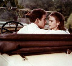 Warren Beatty and Natalie Wood in Splendour in the Grass
