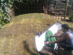 DIY Idea: How to Build Hobbit Hole In The Backyard