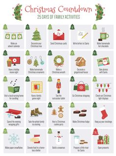 Creative Party Ideas by Cheryl: 25 Days of Christmas Activities to share with your Family Christmas Maze, Christmas Board Games, Christmas Games For Adults, Send Christmas Cards, Printable Christmas Games, Christmas Trivia, Christmas Puzzle, Christmas Jokes, Christmas Activities For Kids