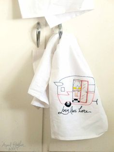 Pink Shasta Camper Embroidery PDF Download by aprilheatherart, $5.00