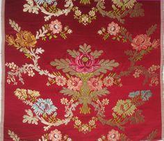 """Carpio"", manual silk fabric from Garin company (Valencia, Spain)"