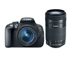 Canon EOS Rebel T5i with 1855mm STM   55250mm STM Lenses *** You can find more details by visiting the image link.