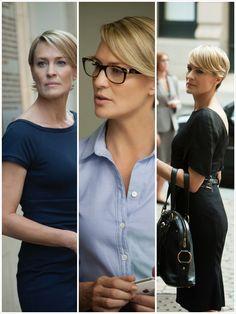 Claire Underwood style