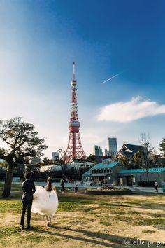 東京ロケーション撮影 街編 |*ウェディングフォト elle pupa blog*